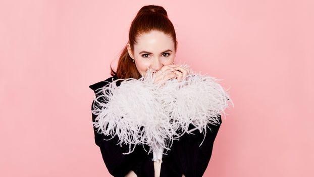 Download Karen Gillan, celebrities, girls wallpaper free