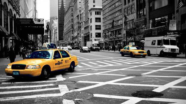 Photo free monochrome, city, street