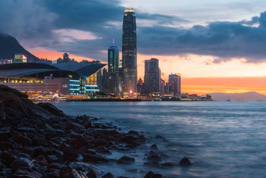 Photo free buildings, skyline, shore