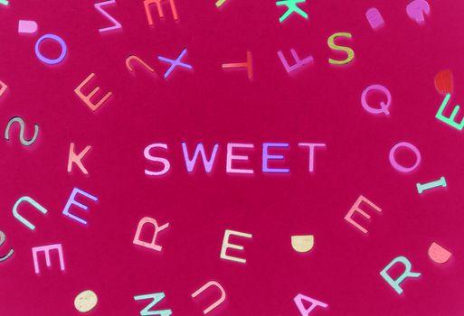 Фото бесплатно сладкий, письма, шрифта