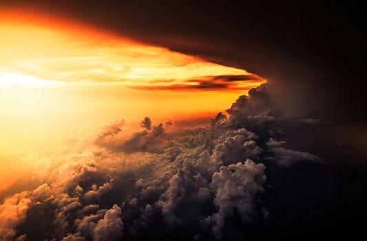 Photo free atmosphere, cloud, clouds