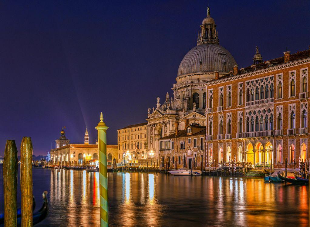 Фото бесплатно Венеция, Италия, Гранд-канал - на рабочий стол