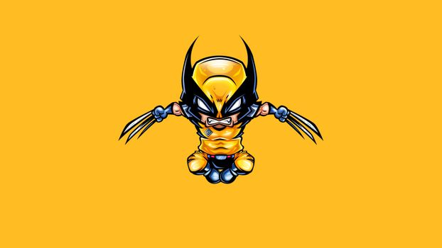 Photo free Wolverine, superheroes, drawing