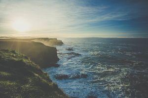 Фото бесплатно небо, солнечный луч, утро