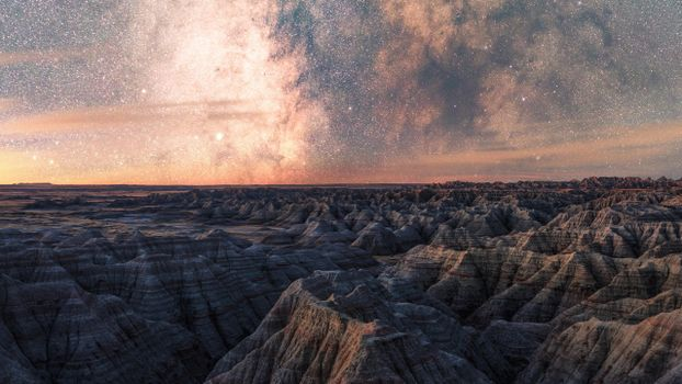 Фото бесплатно Млечный путь, пейзажи, небо