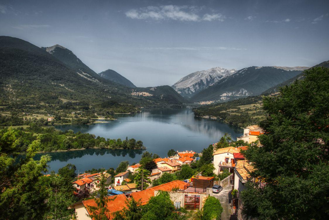 Фото города деревня горы - бесплатные картинки на Fonwall