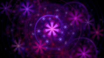 Абстрактные звездочки