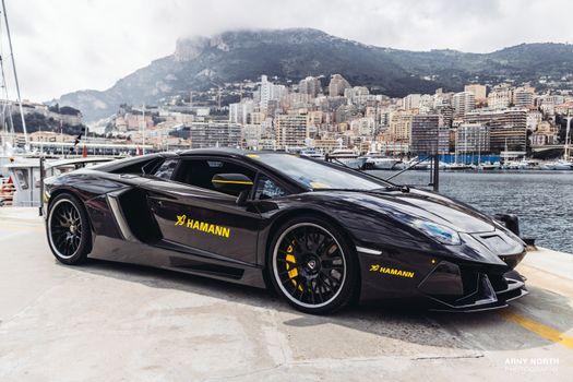 Photo free Lamborghini Aventador, sports car, car