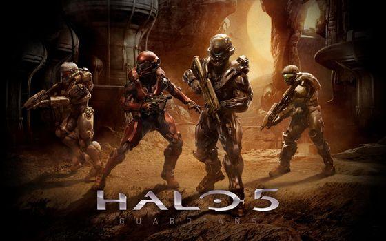 Фото бесплатно Halo 5, игры, компьютерные игры