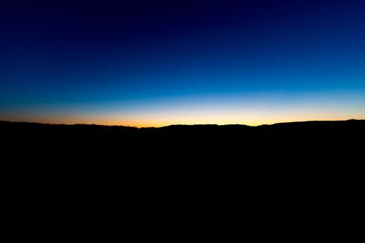 Фото бесплатно закат, горизонт, ночь