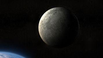 Фото бесплатно луна, абстракция, земля