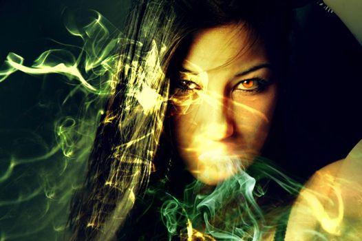 Фото бесплатно свет, женщина, солнечный свет