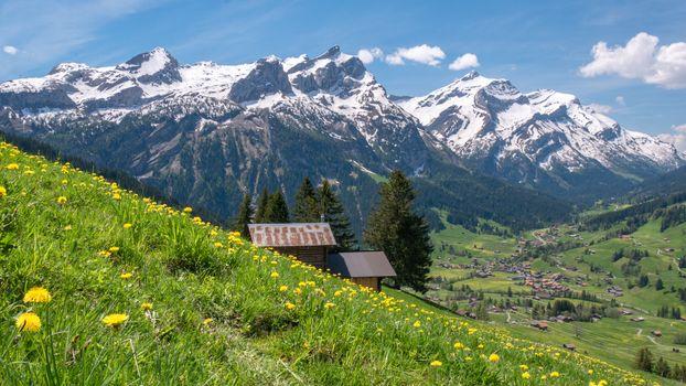 Фото бесплатно природа, Швейцария, горы