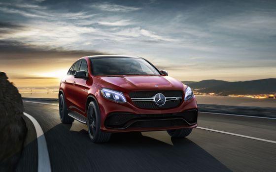 Photo free Mercedes, Mercedes Benz, red