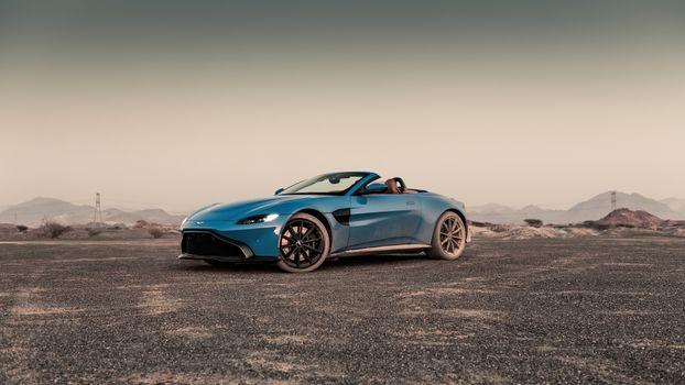 Photo free Aston Martin Vantage, Aston Martin, 2021 cars