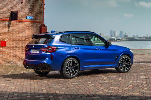 Photo free BMW metallic, blue BMW, blue