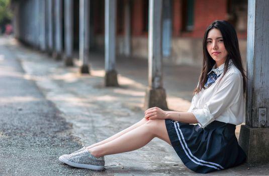 Photo free girls, asian, sit