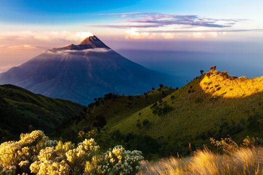 Photo free island, volcano, nature