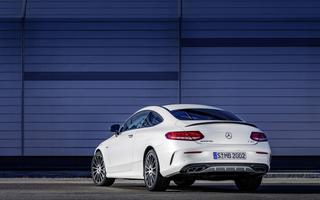 Заставки Mercedes-Benz C43 AMG, автомобиль, белые автомобили