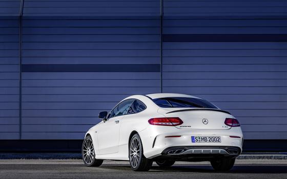 Фото бесплатно Mercedes-Benz C43 AMG, автомобиль, белые автомобили