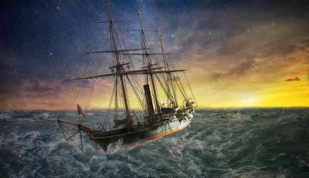 Фото бесплатно судно, переслать, море