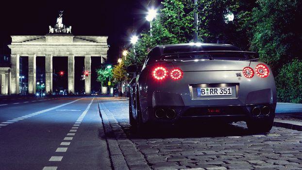 Фото бесплатно автомобиль, Nissan, Nissan GT R
