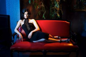 Photo free Jaimie Alexander, young, brunette