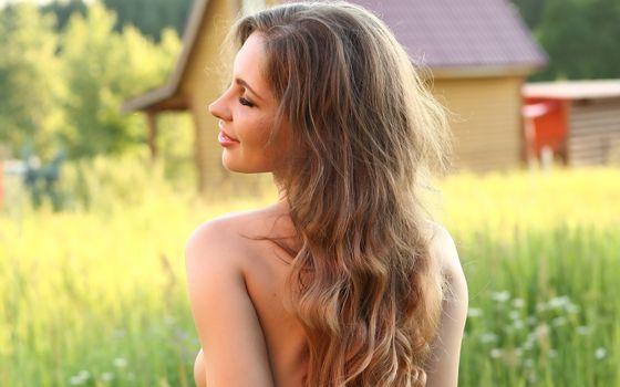 Фото бесплатно galina a, длинные волосы, красивая