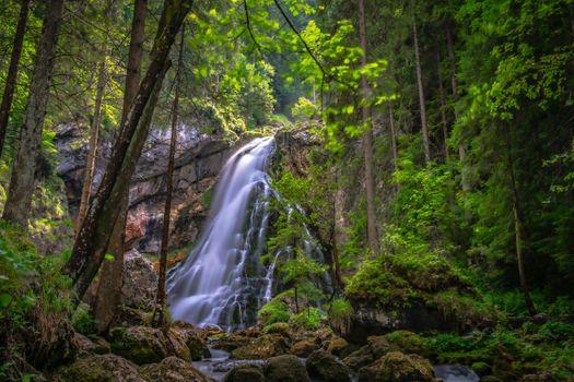 Photo free nature, Austria, waterfalls