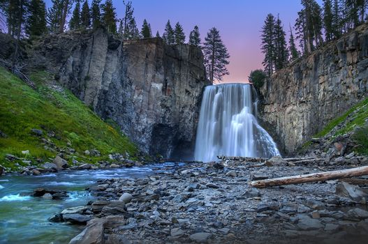 Фото бесплатно Rainbow Falls, река, природа