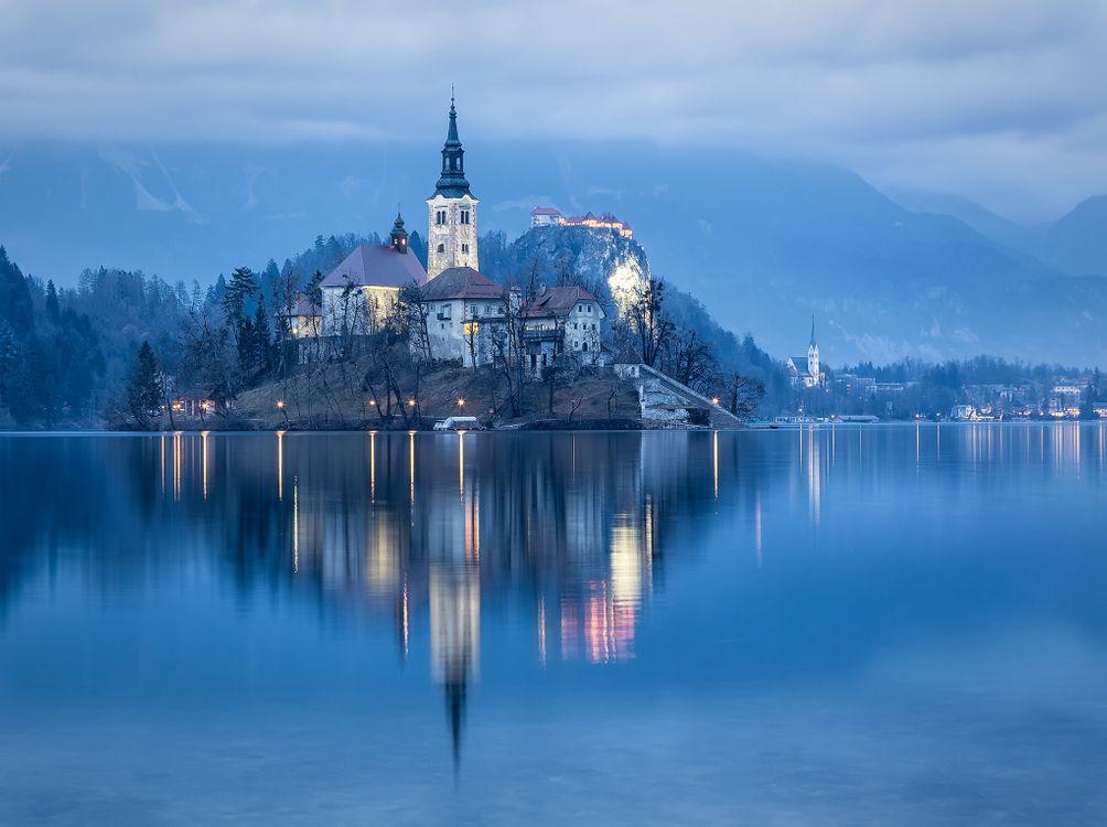 Озеро Блед в Словении · бесплатное фото