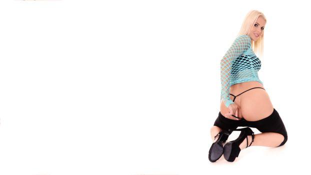 Фото бесплатно lynna nilsson, fishnet, задница