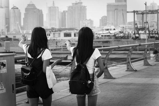 Photo free monochrome, Asia, women