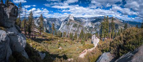 Фото бесплатно горы небо, природа, небесное сша
