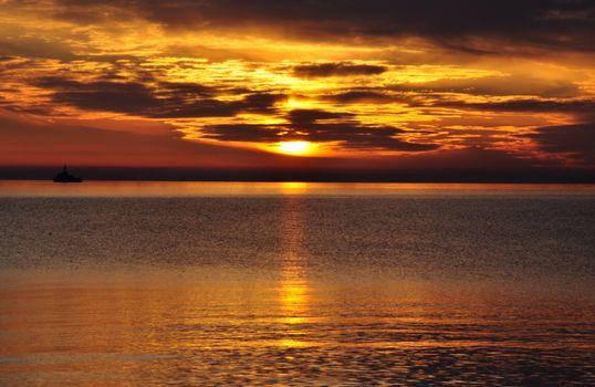 Фото бесплатно восход солнца, отражения, природа