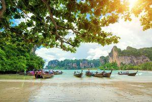 Бесплатные фото Таиланд,тропики,море,пляж,лодки