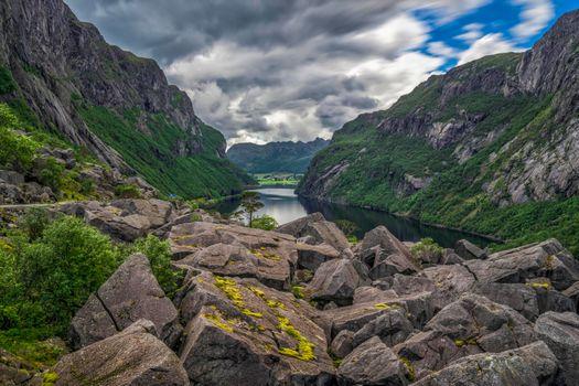 Фото бесплатно Gloppedalsura, Рогаланд, Норвегия