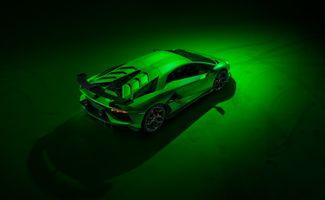 Фото бесплатно Ламборгини Авентадор, Lamborghini Aventador SVJ, машины