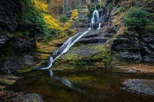 Фото бесплатно природа, осень, скалы
