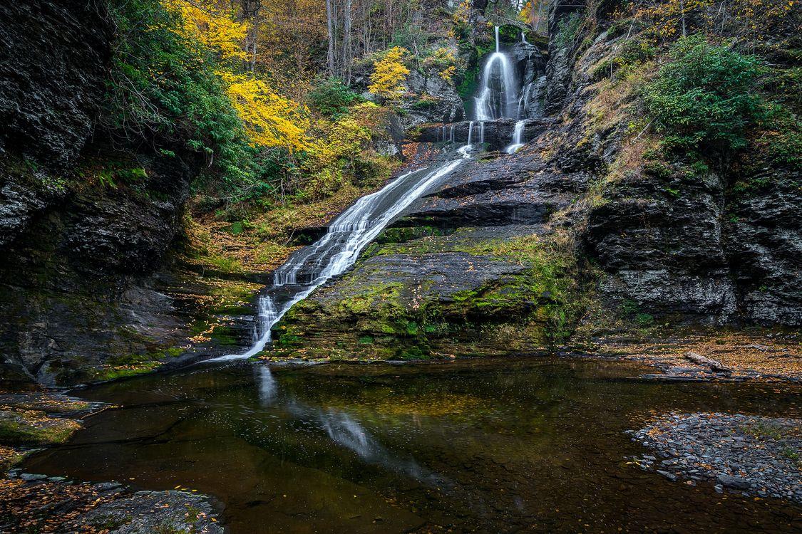 Фото бесплатно природа, осень, скалы - на рабочий стол