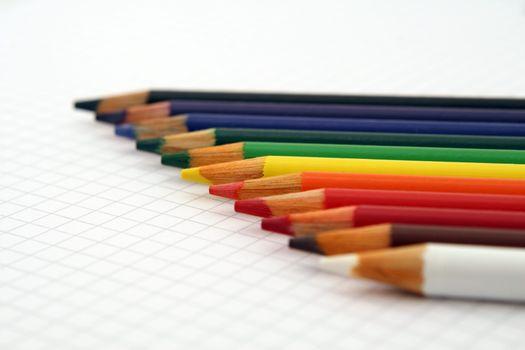 Photo free writing, crayon, sharp