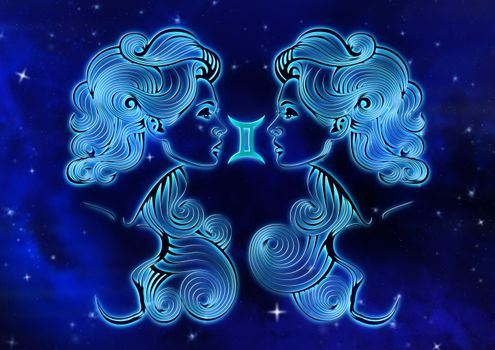 Photo free Gemini, zodiac sign, horoscope
