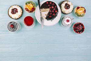 Фото бесплатно десерт, конфеты, продукты питания