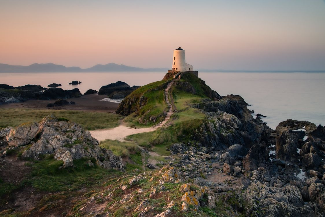 Фото прибрежное объединённое королевство природа береговые маяки - бесплатные картинки на Fonwall
