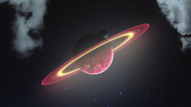 Фото бесплатно планета, Digital Universe, художник