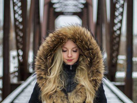 Photo free blurred, model, fur
