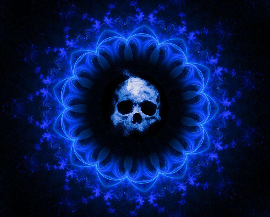 Фото бесплатно Skull, тьма, фэнтези - на рабочий стол