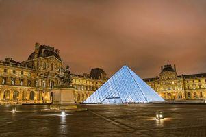 Фото бесплатно Лувр, Париж, Франция