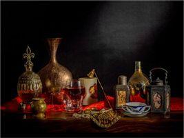 Бесплатные фото натюрморт, стол, предметы