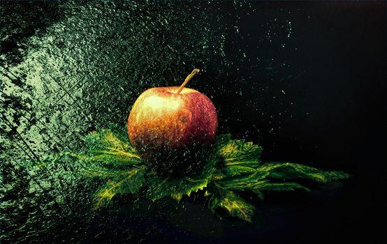 Фото бесплатно яблоко, фрукт, еда